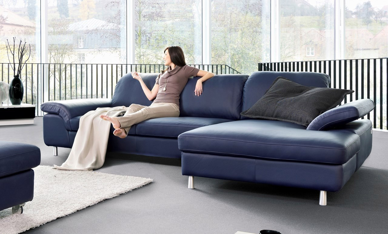Sofa aus Leder TWENTY